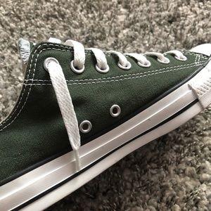 All Star Converse- money green color